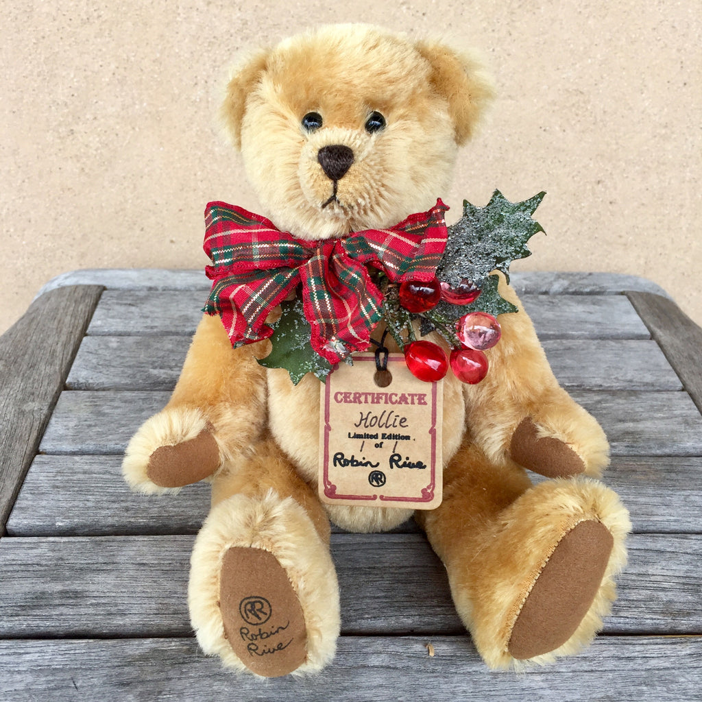 Hollie - KiwiCurio-Robin Rive-Teddy Bears-Limited Edition