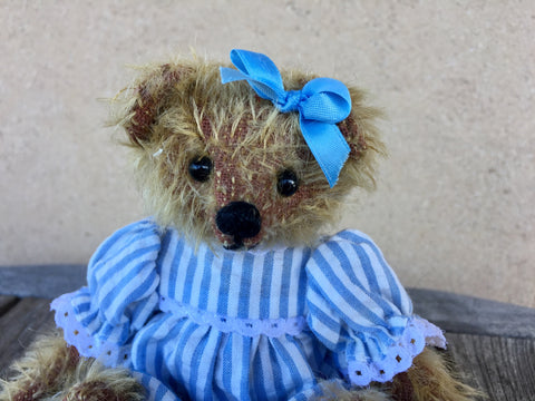 Delphine - KiwiCurio-Robin Rive-Teddy Bears-Limited Edition