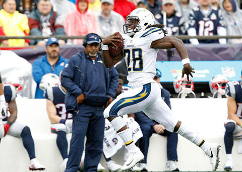 Melvin Gordon Is Nominated for FedEx Ground Player of the Week