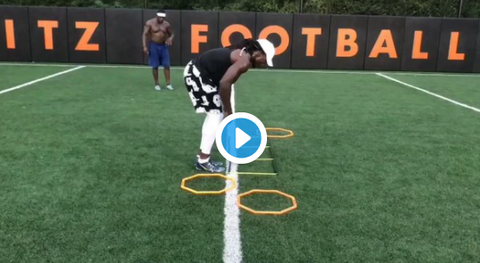 Melvin Gordon Works With 'Footwork King' During Offseason Training