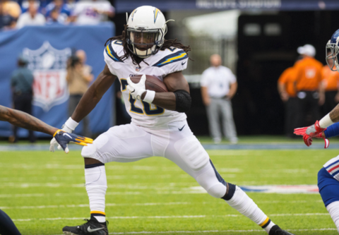 Melvin Gordon Named AFC Offensive Player of the Week