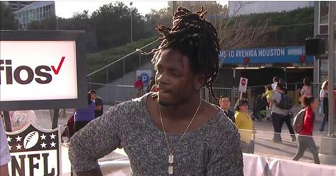 Melvin Gordon Joins NFL Now Live in Houston