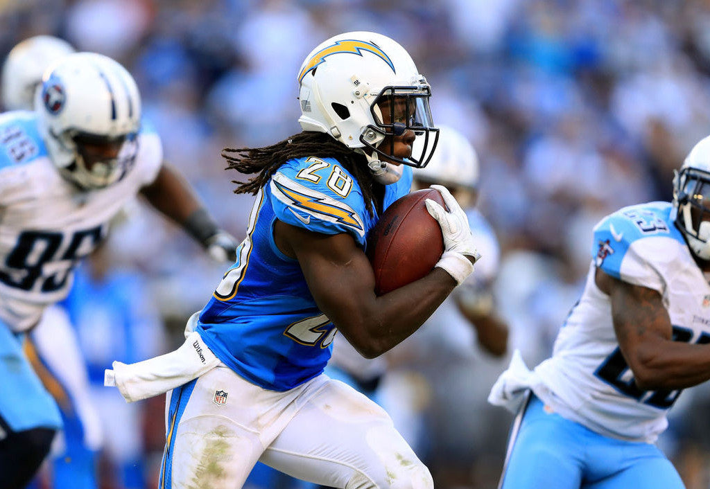 Melvin Gordon is dominating for the Chargers