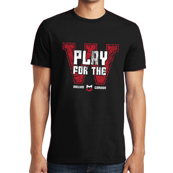 Melvin Gordon | Play for the Win Mens Tee
