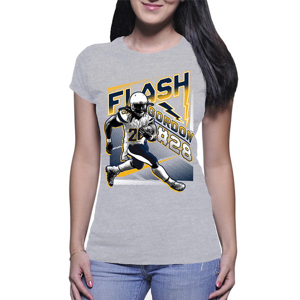 Melvin Gordon Womens Flash Gordon T-Shirt
