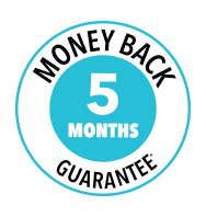 HairMax 5 Month Money Back Guarantee