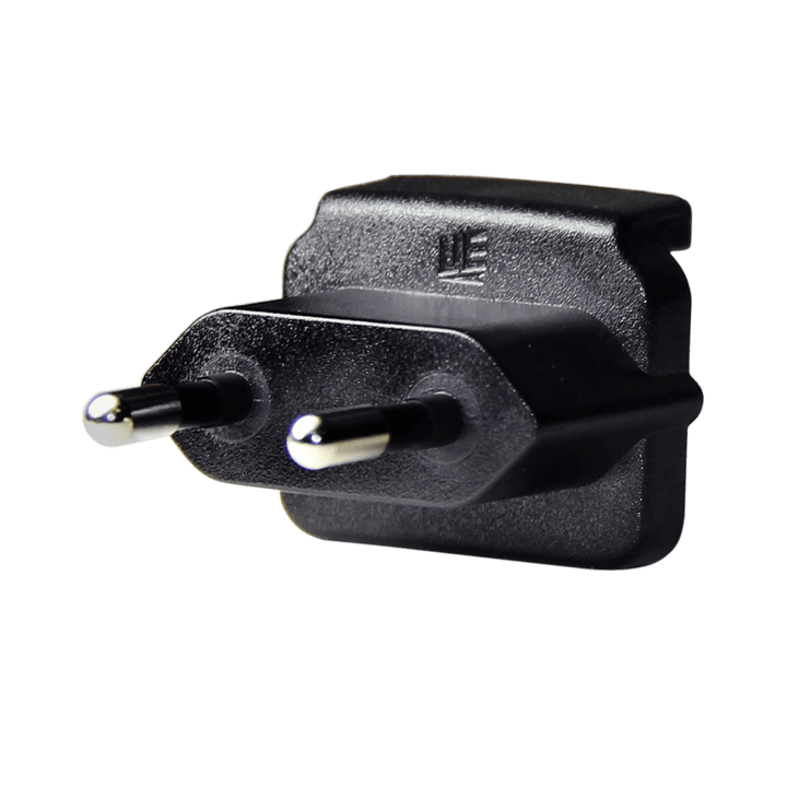 EUROPEAN PIN ADAPTER FOR INTERNATIONAL CHARGER