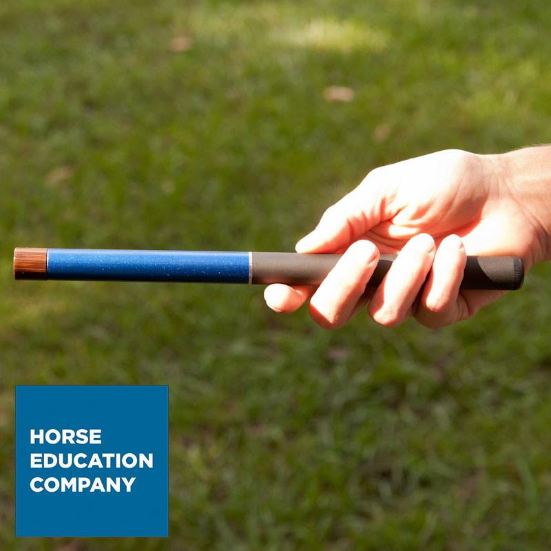 Pocket Horsemanship Flag Collapses to Just 9 inches and Puts Training Convenience in Your Back Pocket