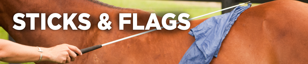 Horse Training Sticks & Flags