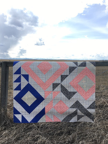 Triangle Jitters Quilt Kit Tutorial