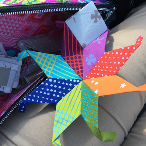 English Paper Piecing Center Star