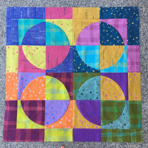 Polarity Quilt Finished Top