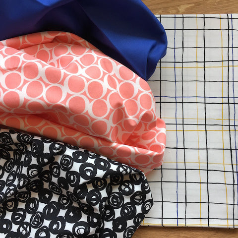 Triangle Jitters Quilt Kit Fabric Selection