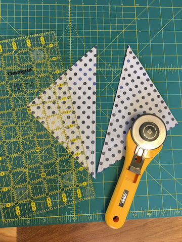 Triangle Jitters Quilt Kit HST Cut Apart