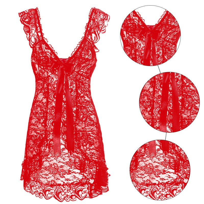 Bridget Lace Babydoll Set