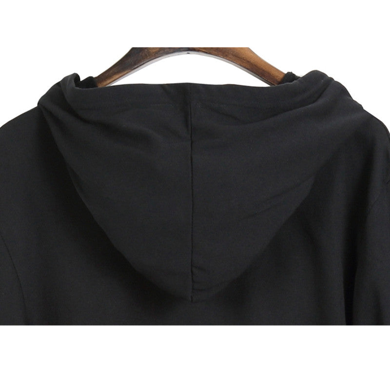 Gothic Steampunk Black Hoodies