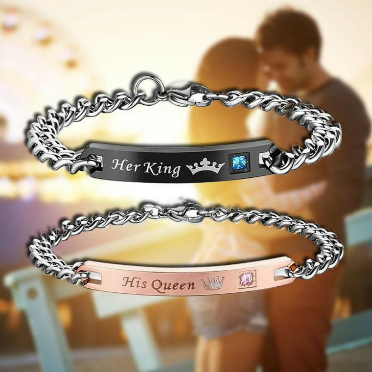 Her King & His Queen Bracelets