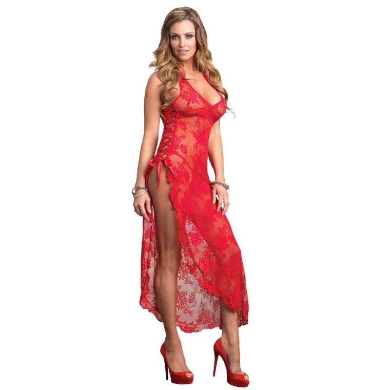 Carol Lace Nightgown + G-String
