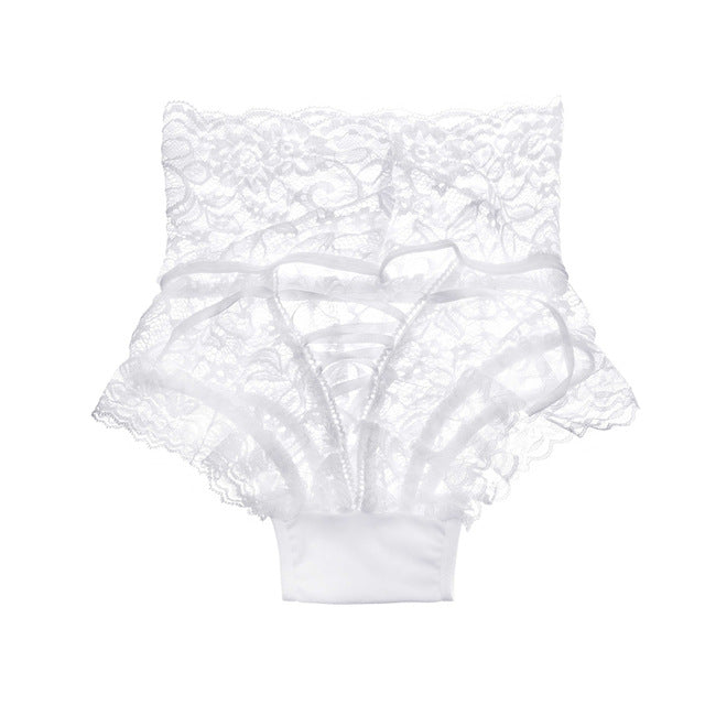 Sexy Lace High-Rise G-String