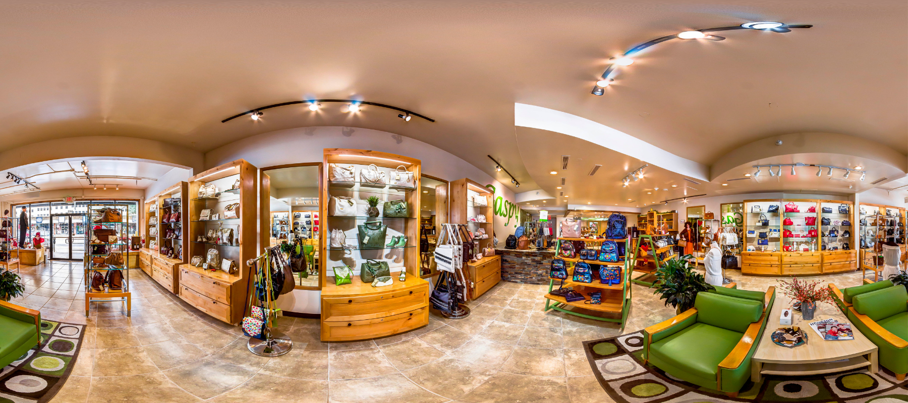 Join us for a Virtual Tour of our Storefront in Rice Village!