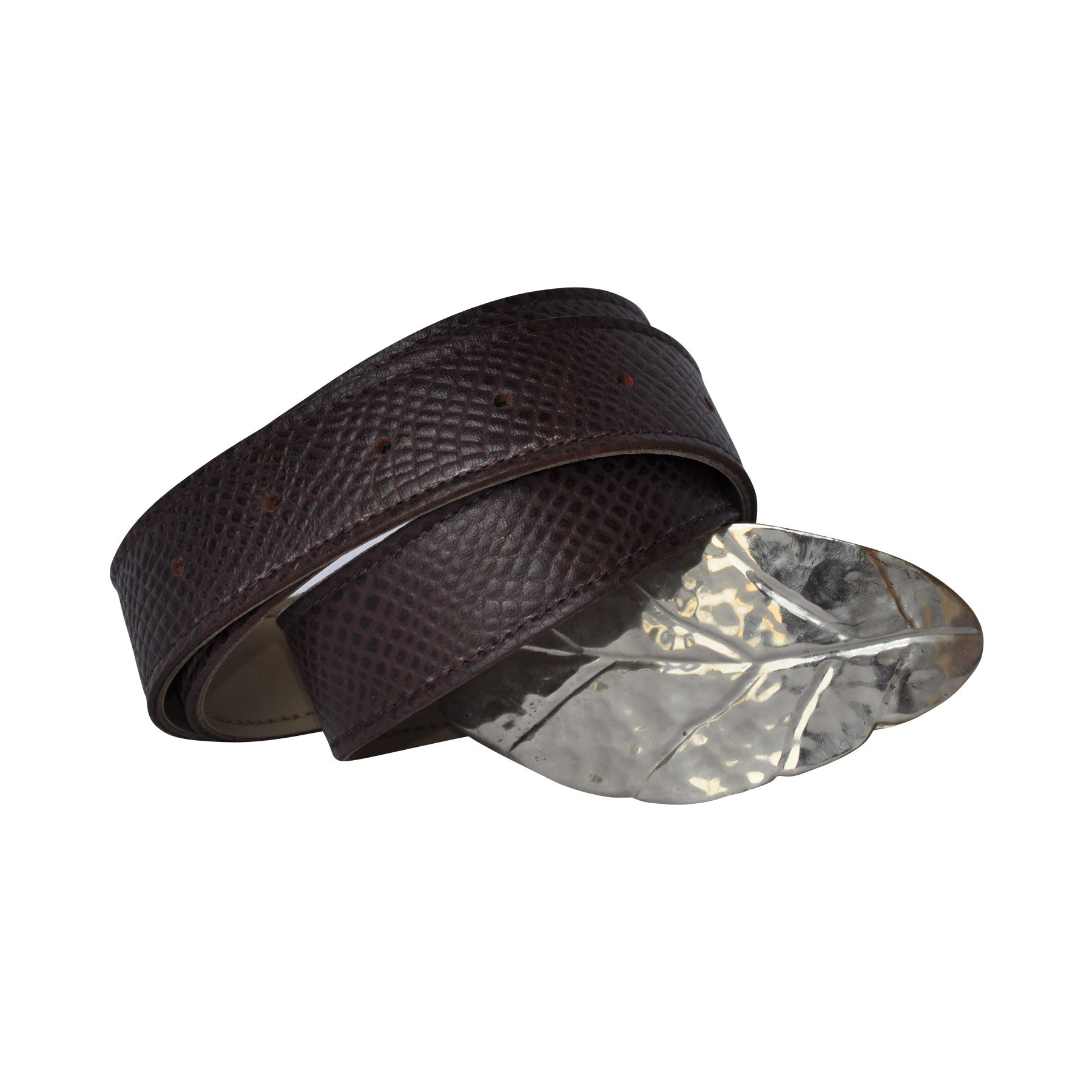 Women's Belt with Leaf - The Gaspy Collection