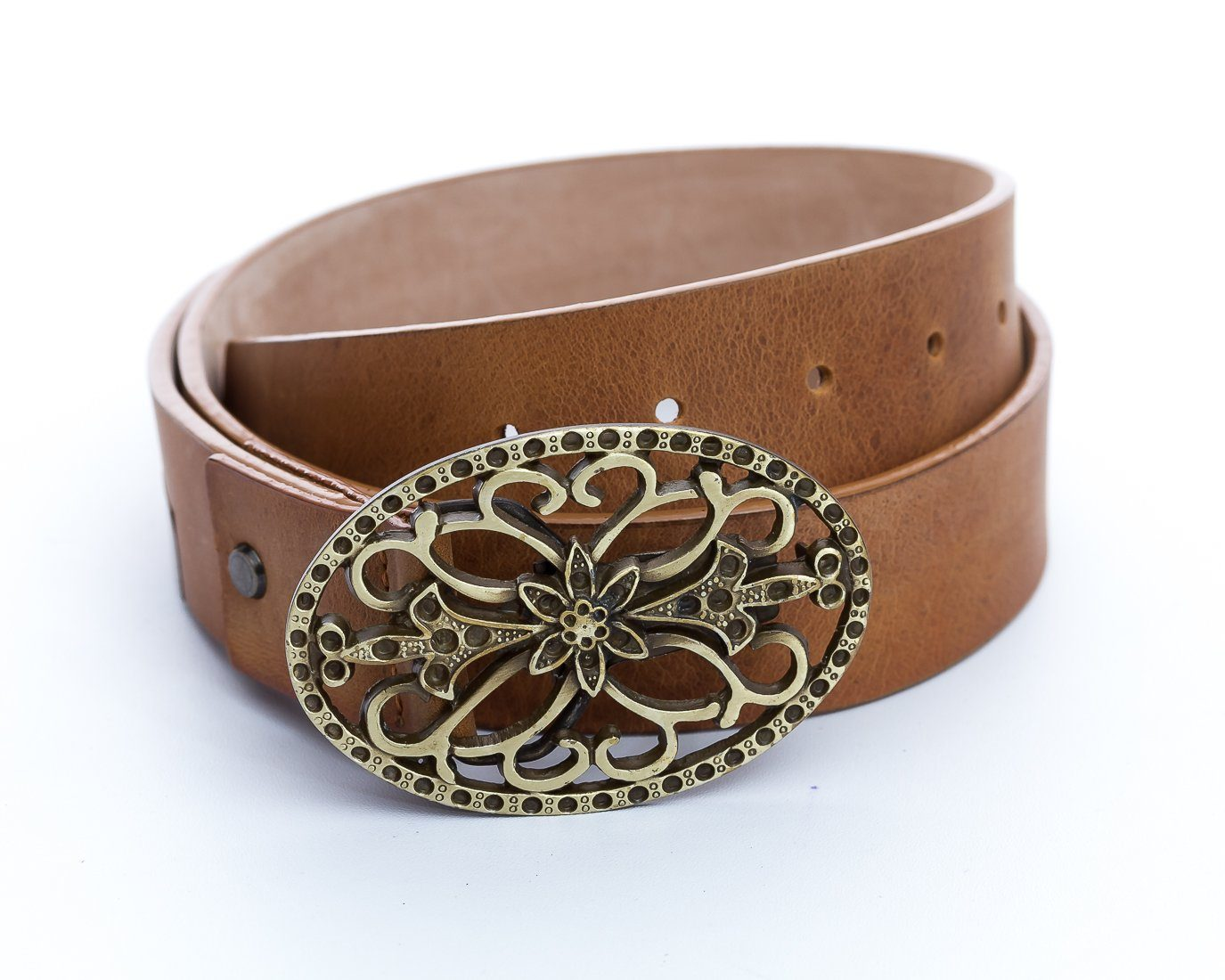Ancestral Oval Women's Belt - The Gaspy Collection