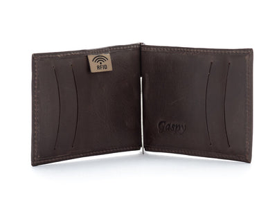 Aaron Men's Bi fold Wallet - The Gaspy Collection