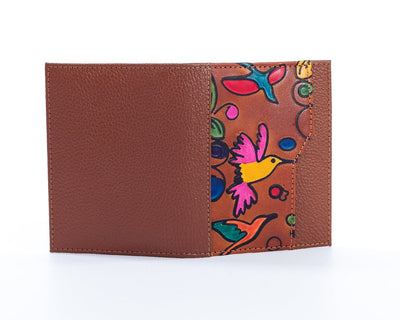Gina (Handpainted) Small Wallet - The Gaspy Collection