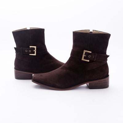 Gamuza Square Toed Boot - The Gaspy Collection