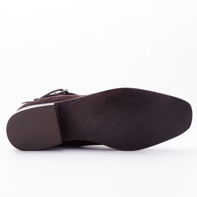 Gamuza Square Toed - The Gaspy Collection