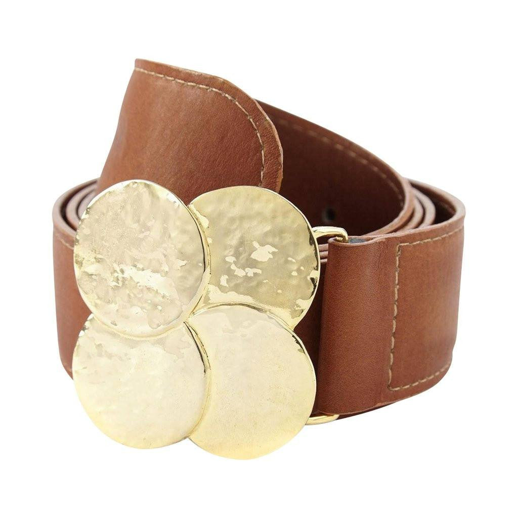 Belt with 4 Circles - The Gaspy Collection