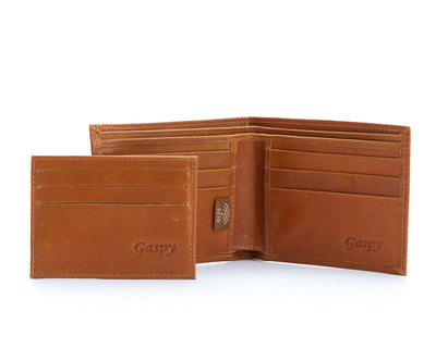 Hank Bi-fold Men's Wallet with Insert - The Gaspy Collection