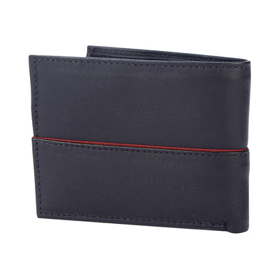 Men's Bi-fold Wallet w/ Line - The Gaspy Collection