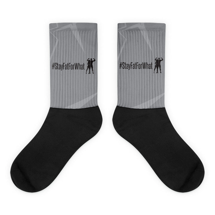 Black foot socks - StayFatForWhat