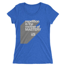 Repetition Is The Mother Of MASTERY