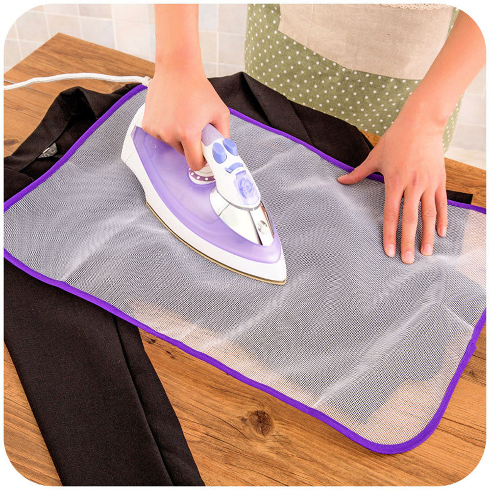 Protective Press Mesh Ironing Cloth Guard Protect Delicate Garment Clothes Ironing Board Cover Mesh Cloth