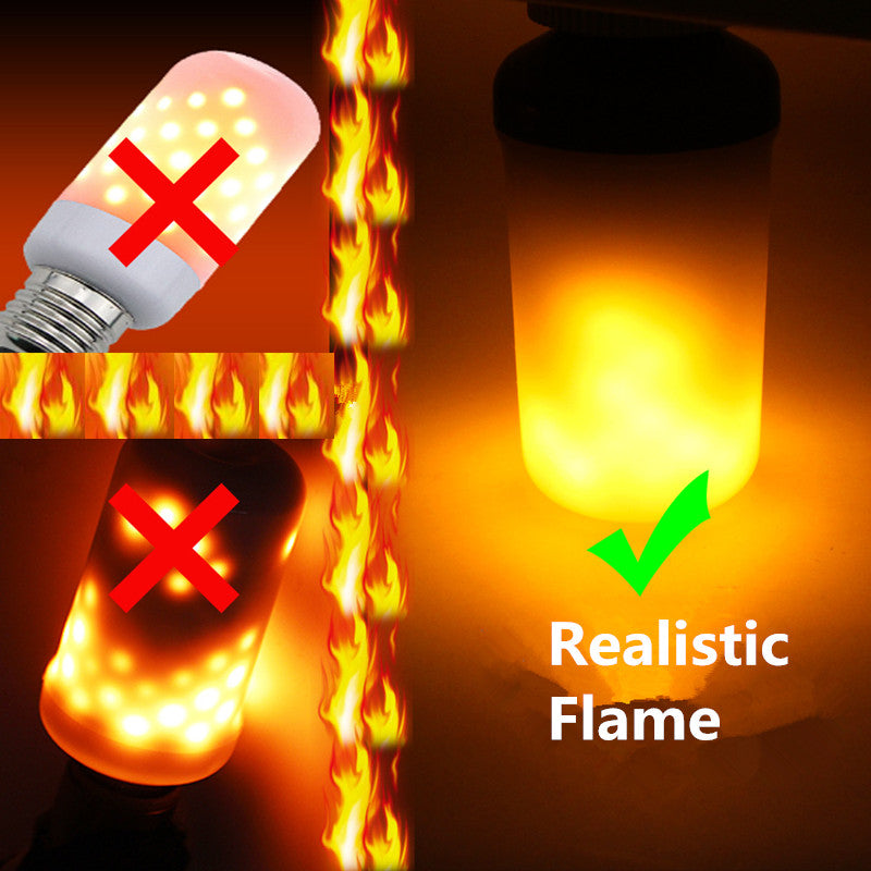 LED Flame Effect Fire