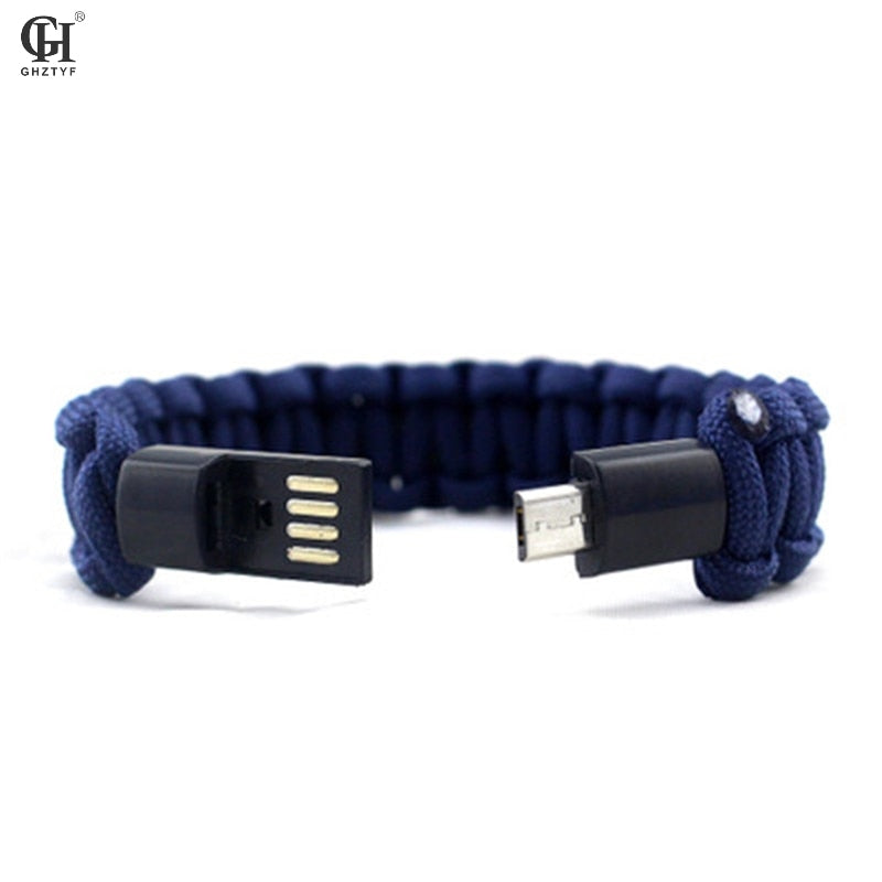 Bracelet  USB Data Cable Charger Multifunction