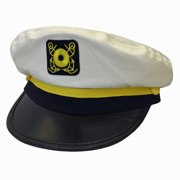 Captains Yacht Skipper Boater Cap