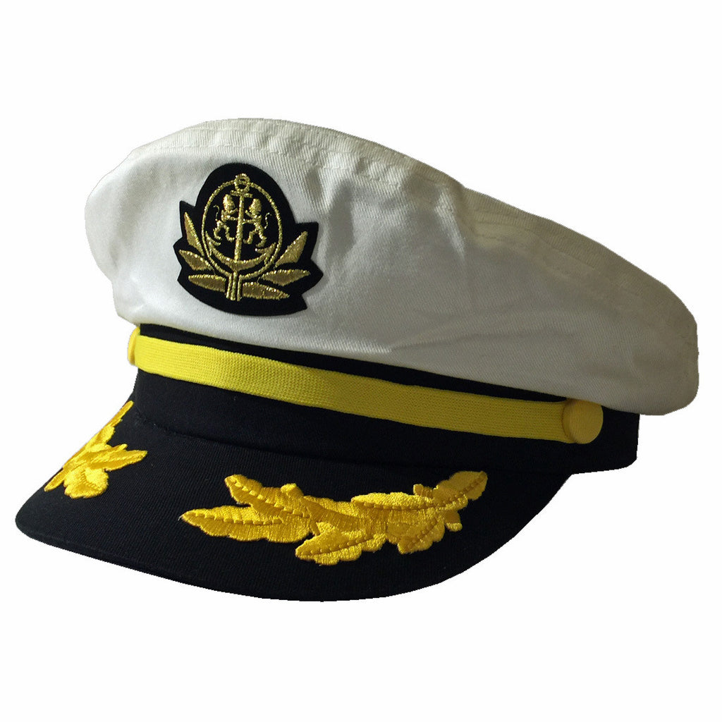 Captains Yacht Boater Hat
