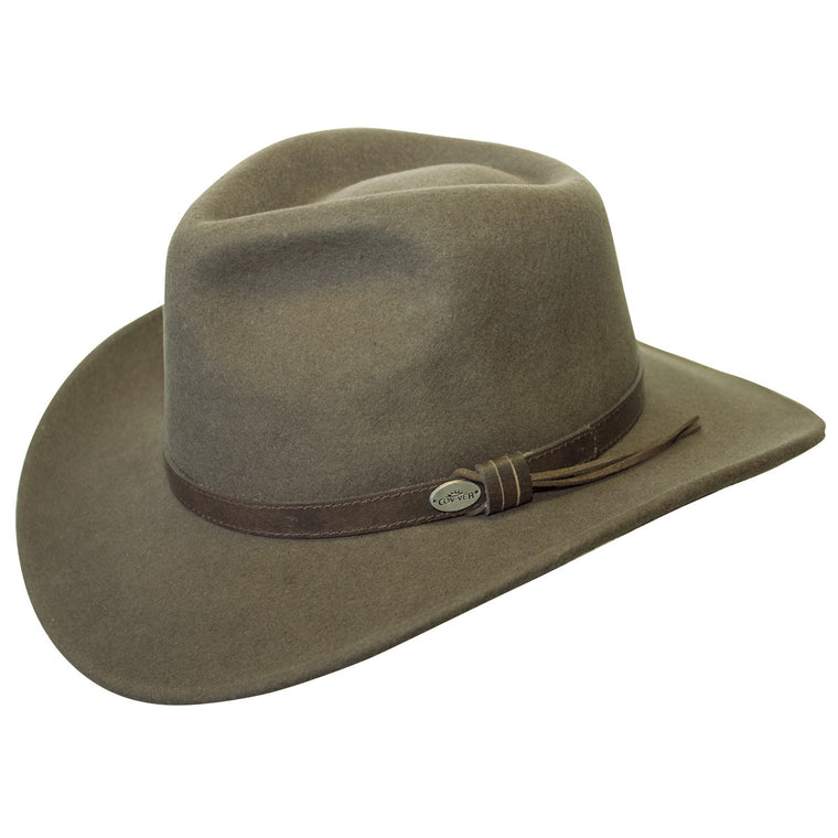 Aussie Wool Crusher Hat (Loden)