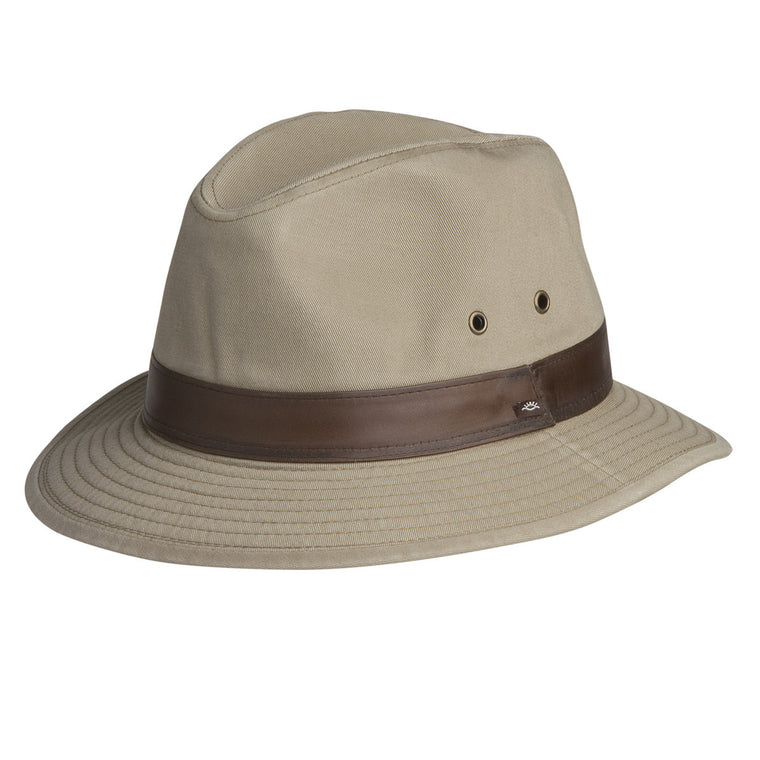 Larimer Cotton Safari Hat (Khaki)