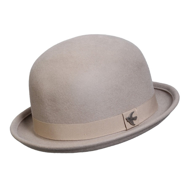 Putty Derby Bowler Hat