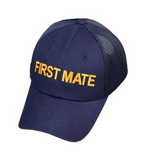 First Mate Boating Baseball Cap