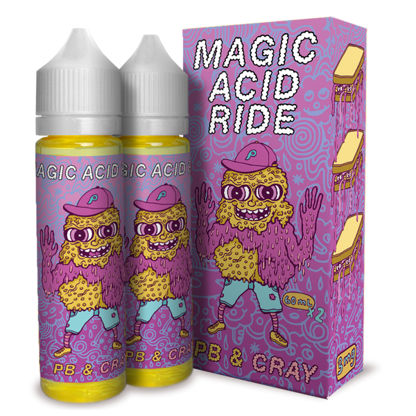 Magic Acid Ride - PB & Cray (120 mL)