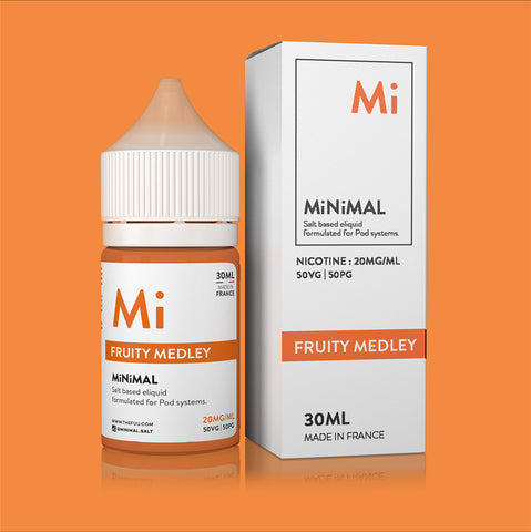 Minimal Nic Salt Fruit Medley