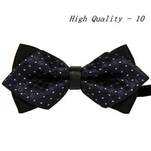 20 style summer men's neckwear neck self gold bow tie silver black silk fashion casual male pink bowtie wedding lote