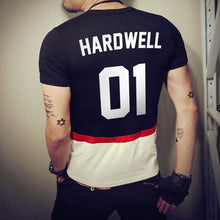 Hardwell Printed Summer T-shirt Men Short Sleeved T-shirts Hiphop EDM Band Music Style FREE SHIPPING