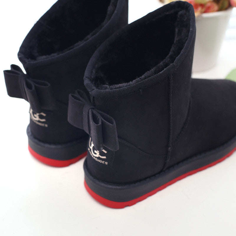 Women boots winter boots botas femininas plush 2015 fashion snow boots snow shoes