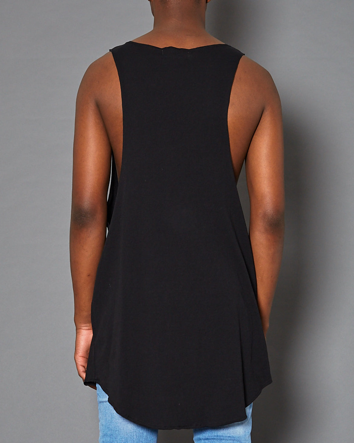 Iron Age Tank Top Jet Black